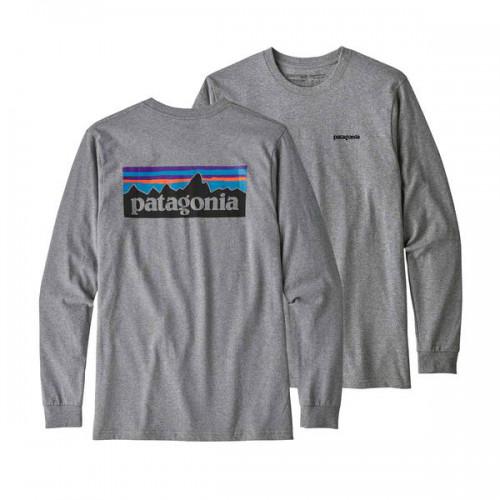 PATAGONIA Long-Sleeved P-6 Logo Responsibili-Tee®