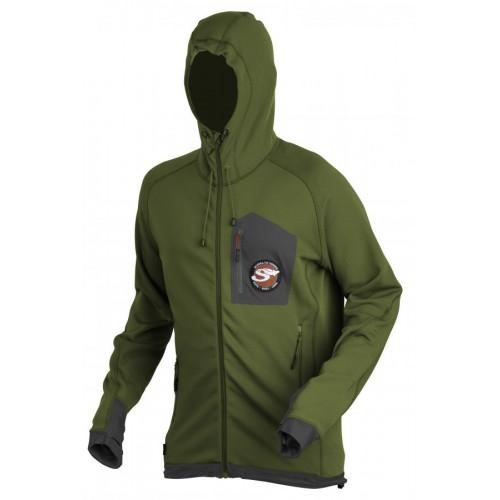 SCIERRA SIE Breeze Zip Fleece Jacket Cactus Green