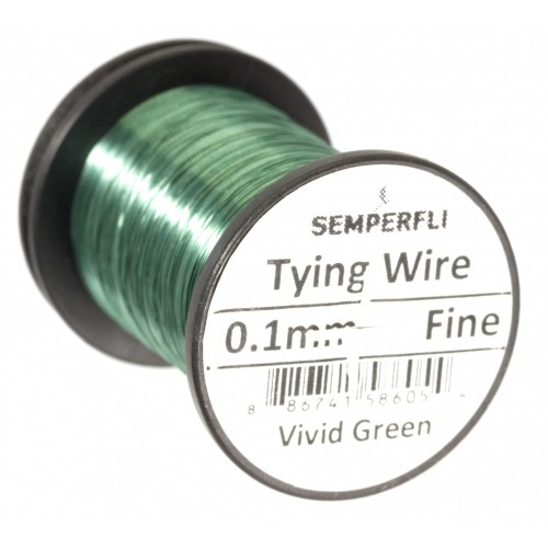 SEMPERFLI vázací drát Dry Fly Wires 0.1mm