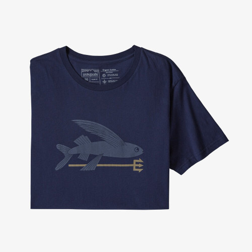 PATAGONIA tričko Flying Fish Organic Cotton T-Shirt