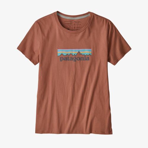 PATAGONIA dámské tričko Pastel P-6 Logo Organic Cotton Crew